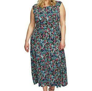 🔥NWT🔥Chaus Floral Sleeveless Maxi Dress